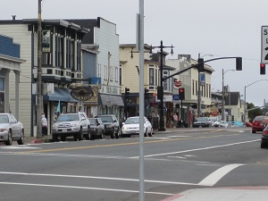 old town-fort bragg, ca