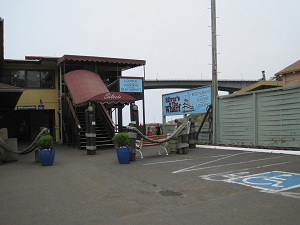 silver's restaurant on the wharf in fort bragg